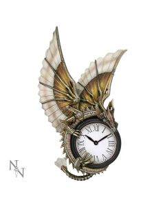 Clockwork Dragon Wall Clock (AS) 25cm