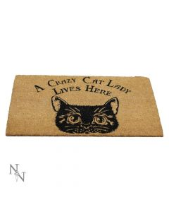 Crazy Cat Lady Doormat 45x75cm