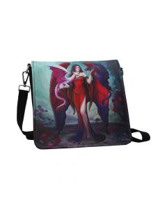 Dragon Mistress Embossed Shoulder Bag (JR) 25cm