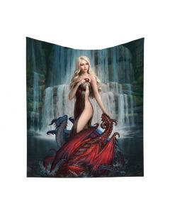 Dragon Bathers Throw (JR) 160cm
