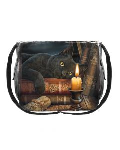 Witching Hour Messenger Bag (LP) 40cm Cats Lisa Parker Artist Collections