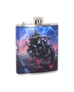 Hell on the Highway Hip Flask (JR) 7oz
