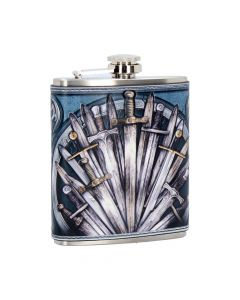 Sword Hip Flask 7oz Medieval Sale Items Premium Range