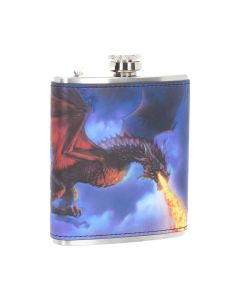 Fire in the Sky Hip Flask (JR) 7oz