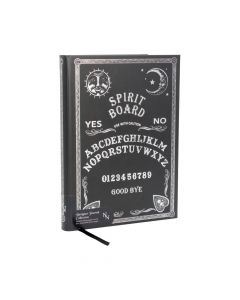 Embossed Journal Black and White Spirit Board 17cm Witchcraft & Wiccan Mother's Day Premium Range