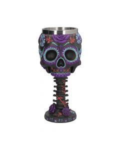 Twilight Blooms Goblet 18cm