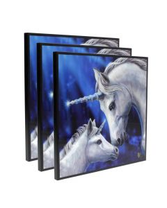 Sacred Love Crystal Clear Picture 40cm Set of 3