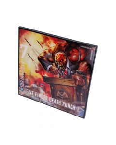 5FDP-Justice for None Crystal Clear Pic 32cm Band Licenses Five Finger Death Punch Artist Collections