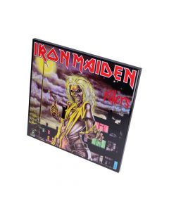 Iron Maiden-Killers Crystal Clear Picture 32cm Band Licenses Iron Maiden Artist Collections
