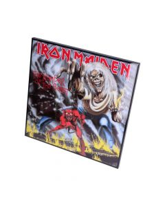 IronMaiden-Number of the Beast Crystal Clear 32cm