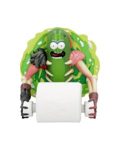 Pickle Rick Toilet Roll Holder 22.5cm