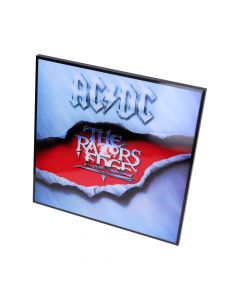 ACDC-The Razors Edge Crystal Clear Pic 32cm Band Licenses ACDC Artist Collections