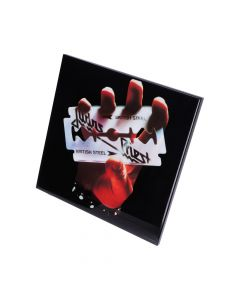 Judas Priest-British Steel Crystal Clear 32cm