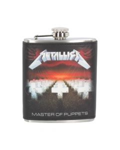 Metallica - Master of Puppets Hip Flask 7oz Band Licenses Metallica Artist Collections