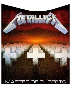 Metallica - Master of Puppets Throw 160cm Band Licenses Metallica Artist Collections