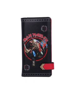 Iron Maiden Embossed Purse Band Licenses Gift Ideas Artist Collections