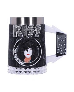 KISS Glam Range The Starchild Tankard 15.5cm Band Licenses New in Stock Artist Collections