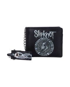 Slipknot - Flaming Goat Wallet Band Licenses Stocking Fillers Artist Collections