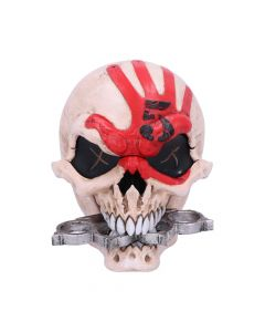 Officially Licensed Five Finger Death Punch Mascot Skull Box New Product Launch