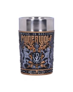 Powerwolf Metal is Religion Shot Glass 8.5cm Band Licenses New in Stock Artist Collections