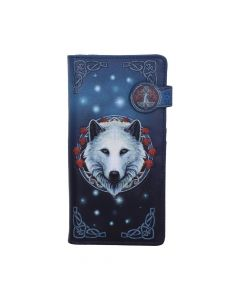 Guardian of the Fall Embossed Purse(LP) 18.5cm Wolves New in Stock Artist Collections