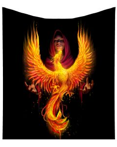 Phoenix Rising Throw (AS) 160cm Fantasy New Products Artist Collections