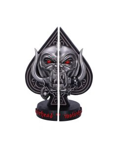 Motorhead Ace of Spades Bookends 18.5cm Band Licenses New in Stock Artist Collections