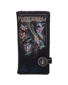 Powerwolf Embossed Purse 18.5cm Band Licenses New Product Launch Artist Collections