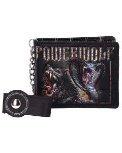 Officially Licensed Powerwolf Kiss of the Cobra King Embossed Wallet New Product Launch