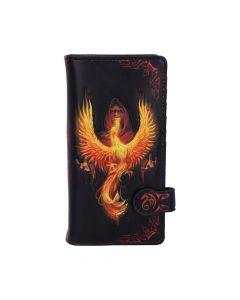 Phoenix Rising Embossed Purse (AS) 18.5cm Fantasy New in Stock Artist Collections
