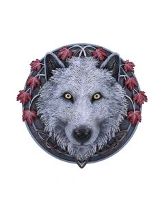 Guardian of the Fall Wall Plaque (LP) 29cm Wolves New in Stock Artist Collections