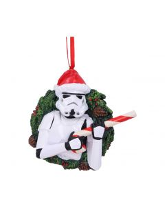 Stormtrooper Wreath Hanging Ornament Sci-Fi New Product Launch
