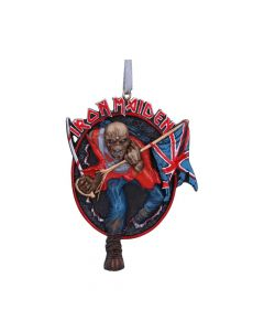 Iron Maiden The Trooper Hanging Ornament 8.5cm Band Licenses New Product Launch