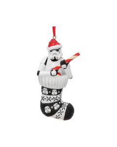 Stormtrooper in Stocking Hanging Ornament 11.5cm Sci-Fi New Product Launch