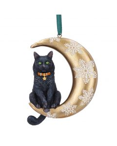 Moon Cat Hanging Ornament (LP) 9cm Cats Christmas Collection