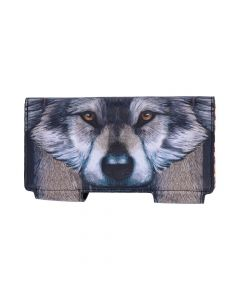 Guardian Wolf Embossed Purse 18.5cm Wolves New Product Launch