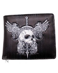 Wallet - Skull & Wings 11cm