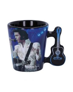 Espresso Cup - Elvis The King of Rock and Roll Famous Icons New Product Launch Premium Range