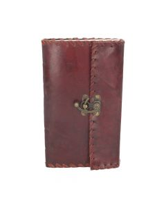 Leather Journal with Lock 14cm x 23cm Witchcraft & Wiccan Wiccan & Witchcraft Premium Range