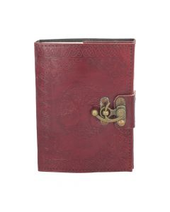 Tree Of Life Leather Journal w/lock 13 x 18cm Witchcraft & Wiccan Wiccan & Witchcraft