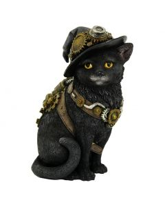 Clockwork Kitty 16.5cm Cats Steampunk Premium Range