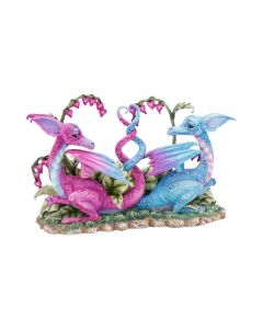 Love Dragons (AB) 23cm Dragons Artist Medium Dragons Artist Collections