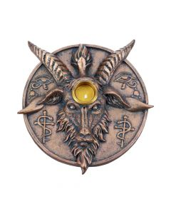 Baphomet's Prayer Incense and Candle Holder 12.6cm Baphomet New Products Value Range
