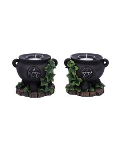 Ivy Cauldron Candle Holder 11cm (Set of 2) Witchcraft & Wiccan New in Stock Premium Range