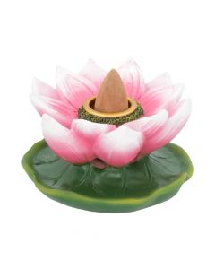 Lotus of Purity Backflow Incense Burner 7.7cm