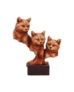 Feline Trio 23.5cm Cats New in Stock Unspecified