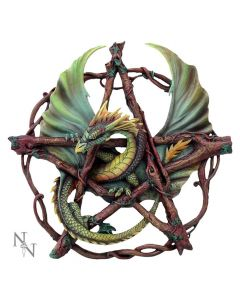 Forest Pentagram Dragon 32.5cm
