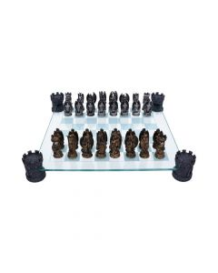 Kingdom Of The Dragon Chess Set 43cm
