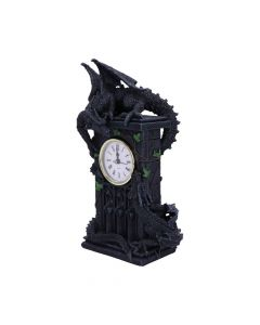 Duelling Dragons Clock (26cm)