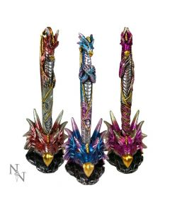 Dragon Pens & Holders 16.5cm  (Set of 3)